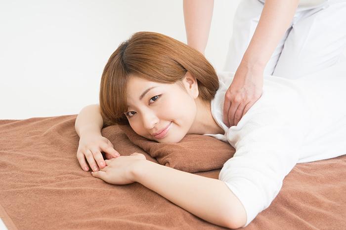 肩周辺の施術内容